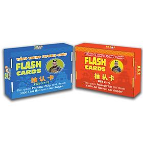 Flashcard - Combo Flashcard Tiếng Trung 12 và 34 - Phạm Dương Châu