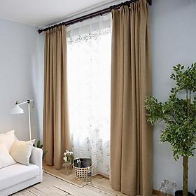 Rèm vải thô 3 màu, cản nắng 90%, nhiều size