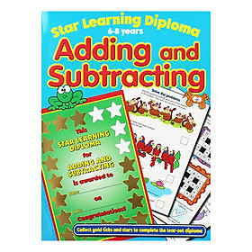 Star Learning Diploma: 6-8 Years Adding and Subtracting