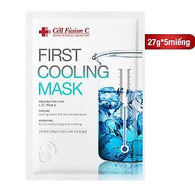 Mặt Nạ Dịu Da Khẩn Cấp Cell Fusion C First Cooling Mask 27g (1miếng)