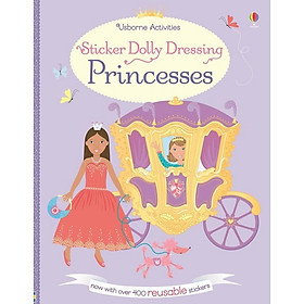 Usborne Sticker Dolly Dressing: Princesses