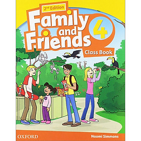 Family and Friends 4 Class Book (without MultiROM) (2nd Edition)