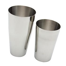 Martini BAR COCKTAIL SHAKER Stainless Steel Boston Mixing Tin Set