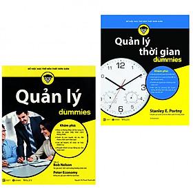 Combo kỹ năng quản lý: Quản lý Dummies + Quản lý thời gian Dummies (Bản đặc biệt kèm bookmark AHA)