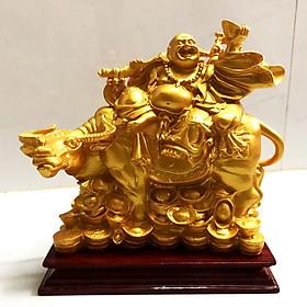 Tượng Trâu Phong Thủy Mang May Mắn Tài Lộc cao 20 cm - TP088