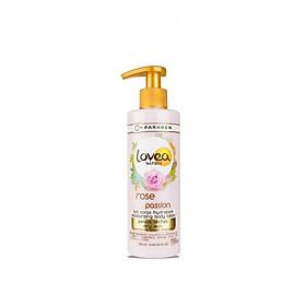 Sữa dưỡng thể mềm mịn da Lovea hương hoa hồng 250ml