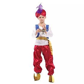 Hình ảnh Đồ Hóa Trang Hoàng Tử Aladdin Cho Bé Trai Mùa Halloween - HMB0141