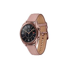 Đồng Hồ Thông Minh Smart Watch Series 3 (41mm) Bluetooth - Màn Hình Cảm Ứng Super Amoled - Theo Dõi Sức Khỏe - Đo Nhịp Tim - Hỗ Trợ Thể Thao - Theo Dõi Giấc Ngủ - Kết Nối Thông Qua Phần Mềm Wearable