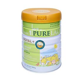 Sữa bột dinh dưỡng cho trẻ từ 0-6 tháng tuổi PURE ROYAL PLUS  STAGE 1
