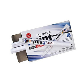 Bút sơn Toyo - 12 cây 1 hộp- Màu trắng