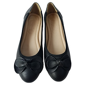 Giày búp bê nữ BIGGBEN da bò cao cấp BB91