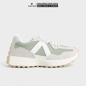 Giày Thể Thao Sneaker Nữ Viền V Cá Tính HAPAS - GSK387