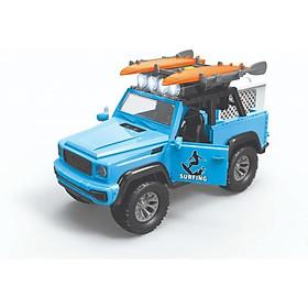 Đồ chơi mô hình VECTO  Xe Jeep chở ván lướt sóng 666-23P