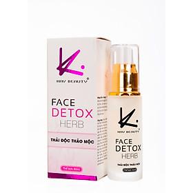Mặt nạ sủi bọt thải chì cho da - Face Detox Herb Kay Beauty