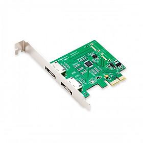 Card RAID PCI-E mở rộng 2 Port eSATA III SI-PEX40076 - Hàng Nhập Khẩu