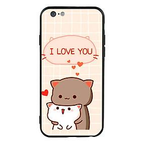Ốp lưng viền TPU cho điện thoại Iphone 6/6s - I Love U