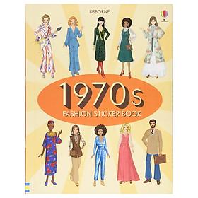 Usborne 1970s Fashion Sticker Book