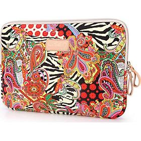 Túi chống sốc laptop họa tiết thổ cẩm