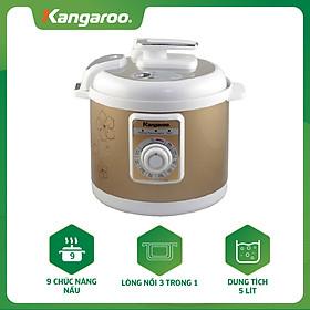 Nồi Áp Suất Điện Kangaroo KG135 (5L) - Hàng chính hãng