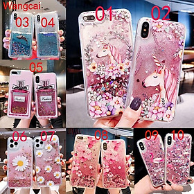 Huawei Y7a Nova 8 Pro Mate 40 Pro P smart 2021 Phoone Case Quicksand Liquid Daisy Unicorn Flamingo Glitter Bling Cartoon Clear Transparent Casing Case Cover