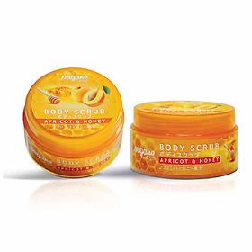 Kem Tẩy Tế Bào Chết Mật Ong Và Tinh Dầu Hạt Mơ Nagano Japan 100g - Body Scrub Apricot & Honey Nagano 100g - Tẩy tế bào chết dành cho da mặt và toàn thân