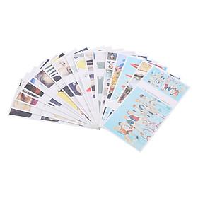 Bộ Postcard Ban Nhạc BTS - Fake Love (19 x 9.5 cm)