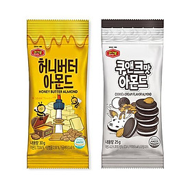 Hạnh nhân bơ mật ong Murgerbon 200g + Hạnh nhân bơ bánh quy Murgerbon 180g