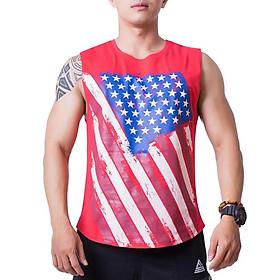 Áo Tank-top Tập Gym Nam Fitme Cotton FAGMCT-DO (Đỏ)