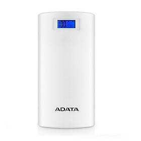 Pin Sạc Dự Phòng Cao cấp 20000mAh LCD ADATA P20000D - Hàng chính hãng