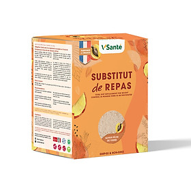 Combo 08 hộp Thực phẩm hỗ trợ giảm cân VSanté [ Vị Đào ]