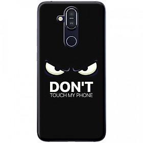 Ốp lưng dành cho Nokia 8.1 mẫu Mặt giận dữ