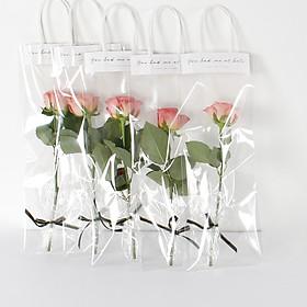 Lẵng Giỏ Cắm Hoa Và Quà Tặng TÚI XÁCH QUAI GIẤY