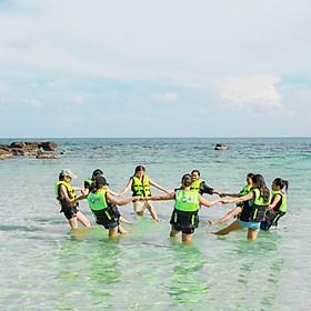 [Phú Quốc] Tour Nam Đảo Câu Cá Lặn Ngắm San Hô, Khởi Hành Hàng Ngày