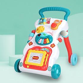 Xe đẩy tập đi cho bé đa chức năng có đồ chơi và nhạc cho bé