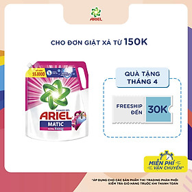 Nước Giặt Ariel Matic Hương Downy Túi 2.1Kg