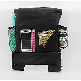 Car Seat Back Storage Bag Temperature Insulation Organizer Pouch Travel Tidy Bags
