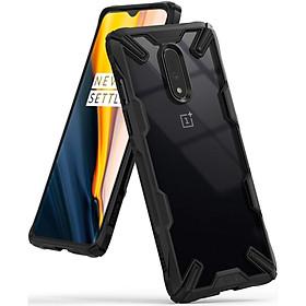 Ốp lưng chống sốc hàng hiệu Ringke Fusion X cho OnePlus 7 - Hàng chính hãng
