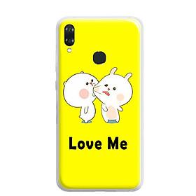 Ốp lưng dẻo cho điện thoại VSmart Joy 1 Plus -0018 LOVEME - Hàng Chính Hãng