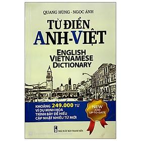 [Download Sách] Từ Điển Anh - Việt