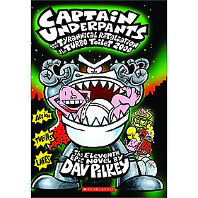 Captain Underpants 11: The Tyrannical Retaliation Of The Turbo Toilet 2000 (Asia)