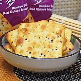Bánh quy mặn hạt Chia Jiahehome Đài Loan 300g