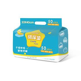 Elephant baby (elepbaby) baby disposable urine pad newborn baby waterproof padded towel postpartum care pad 45*33cm 50 tablets / bag