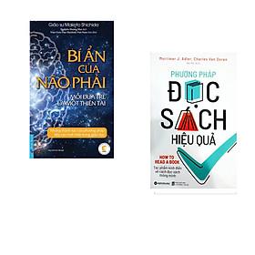 Combo 2 cuốn sách: Bí Ẩn Của Não Phải + Phương Pháp Đọc Sách Hiệu Quả