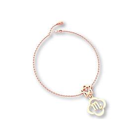 Mặt charm cung hoàng đạo Hổ Cáp vàng hồng 14K DOJI 0210P-LAL357-PG (không bao gồm dây)