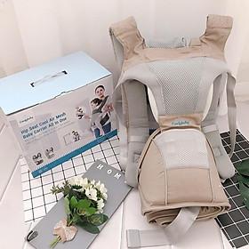 Địu ngồi cao cấp 4 tư thế chống vòng kiềng Comfy Baby