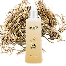 Dầu Massage Body Biyokea - Calming B14 (êm dịu) - 200ml