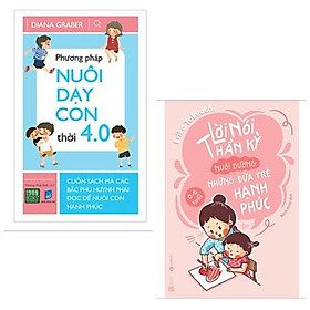 Combo 2 cuốn nuôi dạy trẻ: Lời Nói Thần Kỳ Nuôi Dưỡng Những Đứa Trẻ Hạnh Phúc: 0 - 6 Tuổi + Phương Pháp Nuôi Dạy Con Thời 4.0 + Poster an toàn