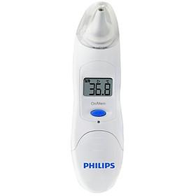 Nhiệt Kế Điện Tử Hồng Ngoại Đo Tai Philips TH889S - Hàng Nhập Khẩu