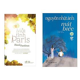 Combo Truyện Hấp Dẫn: Mối Tình Paris + Mắt Biếc (Bộ 2 Cuốn Văn Học Hay / Sách Tuổi Trẻ)