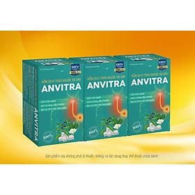 Combo 3 hộp Hỗn dịch trào ngược dạ dày Anvitra